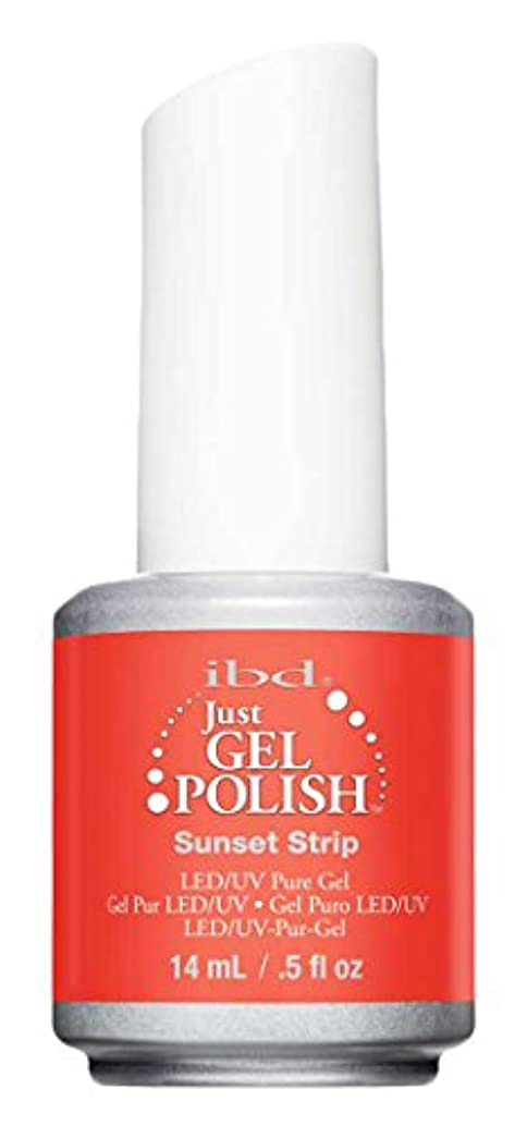 案件にもかかわらず中IBD Just Gel Polish - Sunset Strip - 0.5oz / 14ml