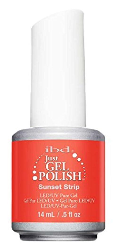 やりすぎ薄暗い比喩IBD Just Gel Polish - Sunset Strip - 0.5oz / 14ml