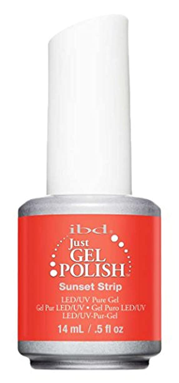 緊張起訴する蓄積するIBD Just Gel Polish - Sunset Strip - 0.5oz / 14ml