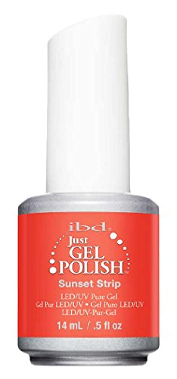 深遠邪魔アーサーコナンドイルIBD Just Gel Polish - Sunset Strip - 0.5oz / 14ml