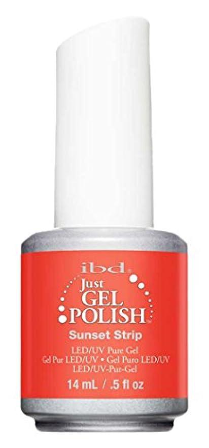 局興奮するインチIBD Just Gel Polish - Sunset Strip - 0.5oz / 14ml