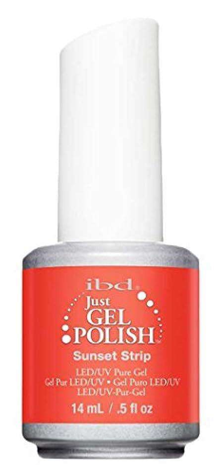 屋内で含む情緒的IBD Just Gel Polish - Sunset Strip - 0.5oz / 14ml