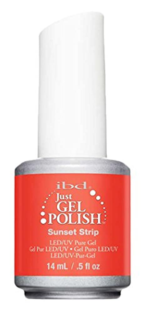 オペレーター行商開拓者IBD Just Gel Polish - Sunset Strip - 0.5oz / 14ml
