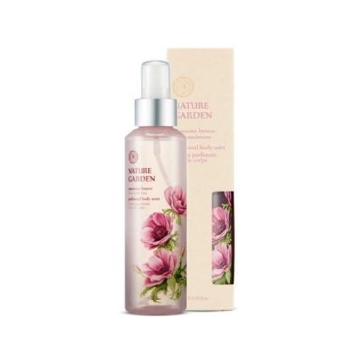 THE FACE SHOP NATURE GARDEN Anemone Breeze Perfumed Body Mist 155ml / ザ・フェイスショップ ナチュラルガーデンアネモネブリーズパフュームボディミスト155ml [並行輸入品]