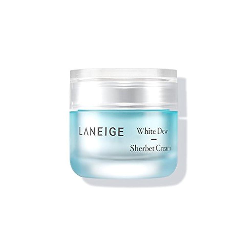 窒素対称代名詞Laneige White Dew Sherbet Cream ホワイトデューシャーベットクリーム50ml