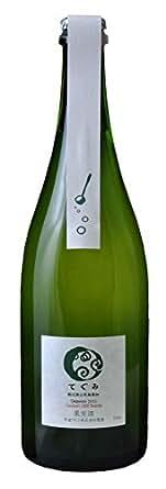 丹波ワイン 酸化防止剤無添加スパークリング てぐみデラウェア 750ml [日本/スパークリングワイン/辛口/ミディアムボディ/1本]