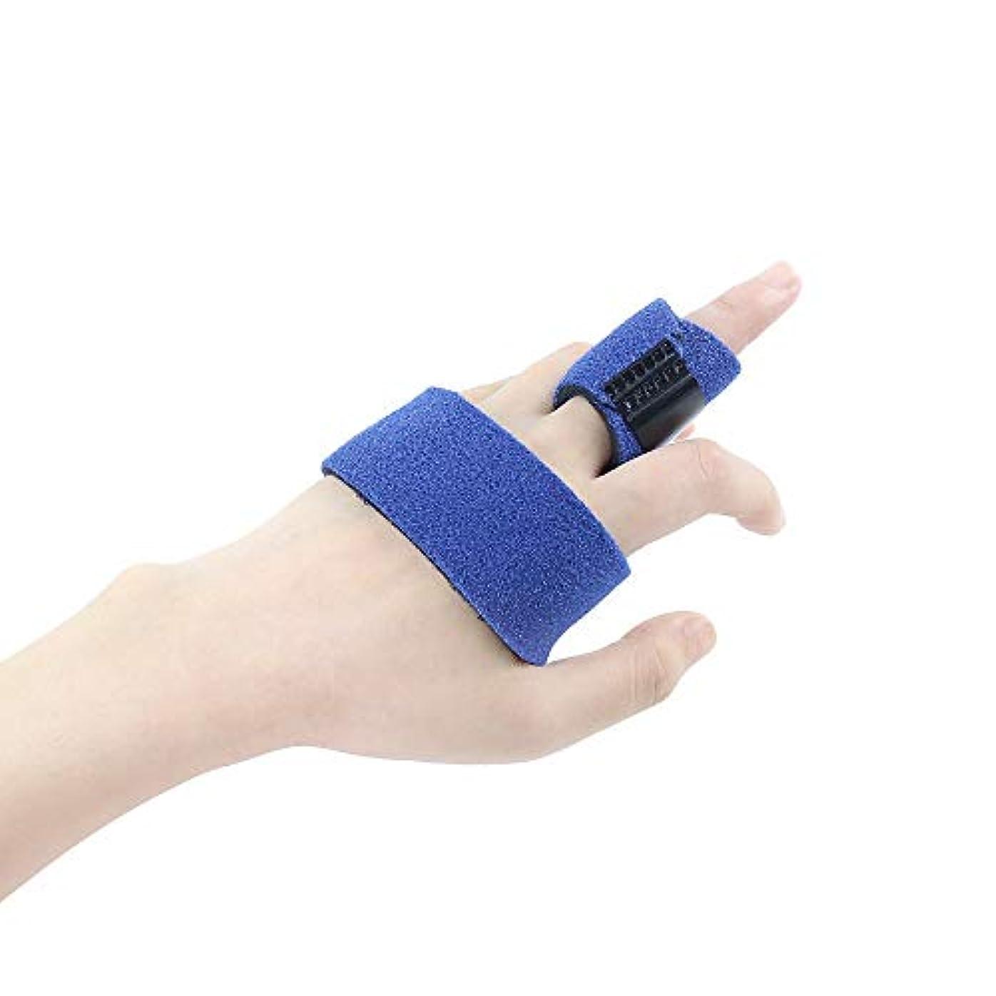 ラリー無秩序ダーリンZYL-YL 五本指骨折捻挫プロテクター親指ブレーススプリントスチールバーのサポート付きフィンガーストラップ (Edition : Right)