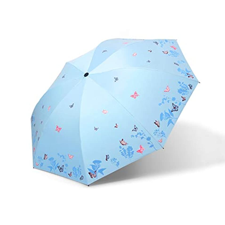 意識代わって取り出すPy 傘日焼け止めUV傘超軽量傘デュアルユース傘折りたたみ女性の日傘小さな新鮮な