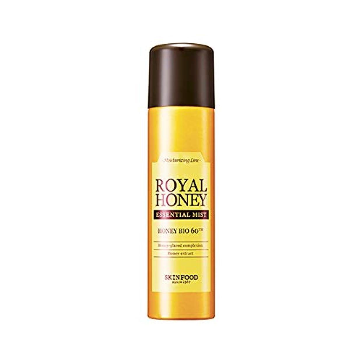 不正頂点偽善者Skinfood ロイヤルハニーエッセンシャルミスト/Royal Honey Essential Mist 120ml [並行輸入品]