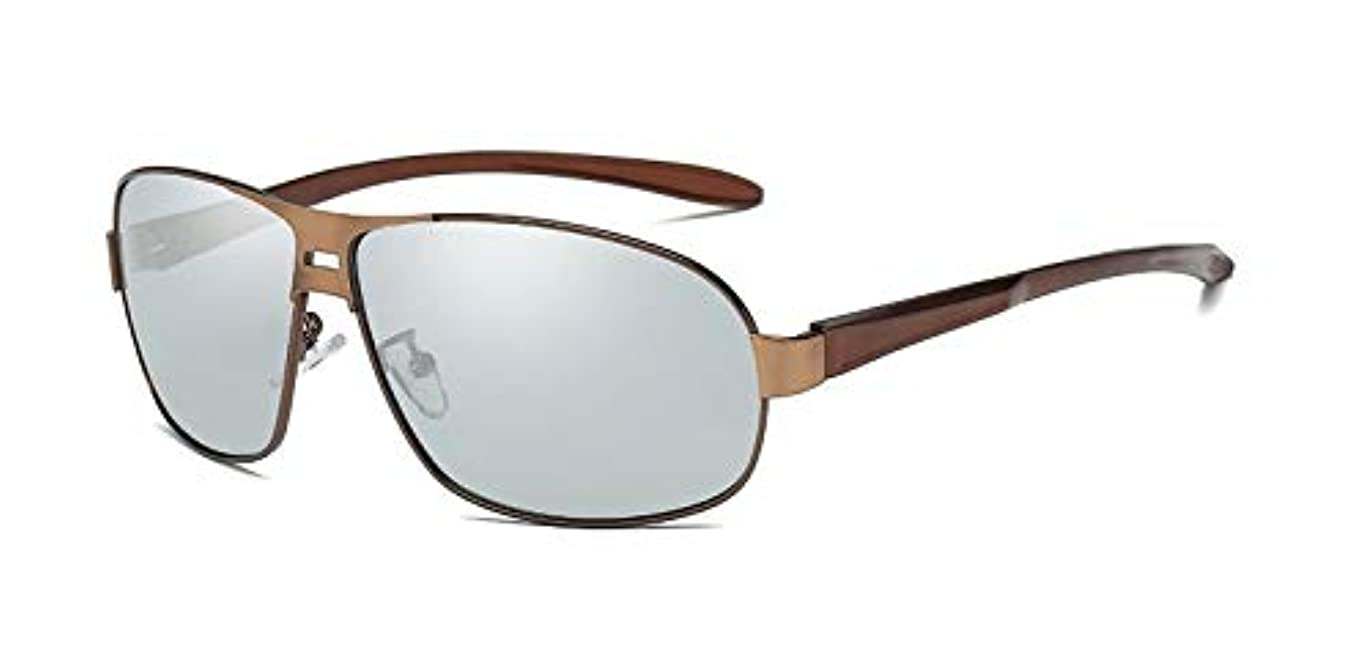 哲学博士逸話偏見調光偏光サングラス 調光サングラス 変色サングラス 偏光サングラス 色眼鏡 調光かつ偏光 スポーツサングラス UV400カット 紫外線から目を守る 可視光通過率99%