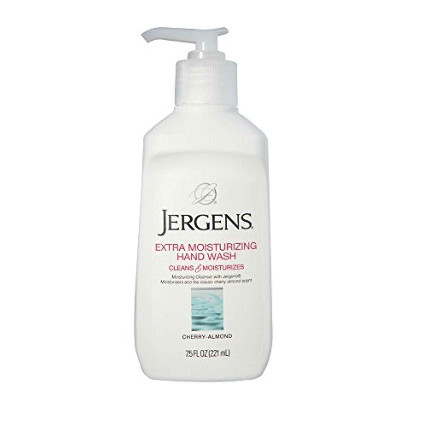 デッド寛大さ暖かくJergens Extra Moisturizing Hand Wash, Cherry-Almond 7.50 oz (Pack of 3) by Jergens