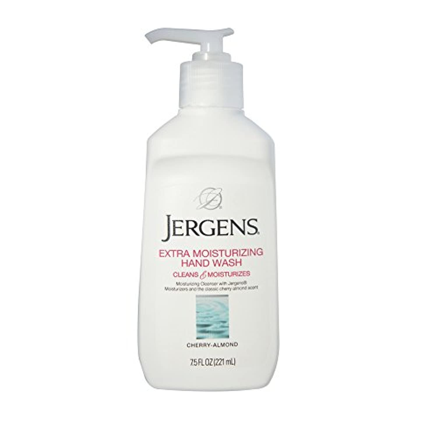 Jergens Extra Moisturizing Hand Wash, Cherry-Almond 7.50 oz (Pack of 3) by Jergens