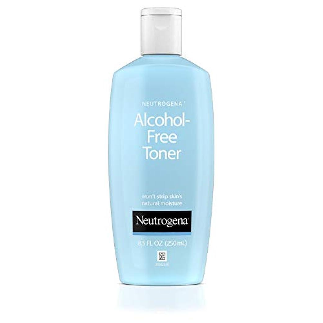 正当な政権違うNeutrogena Alcohol Free Toner - 8.5 oz (並行輸入品)