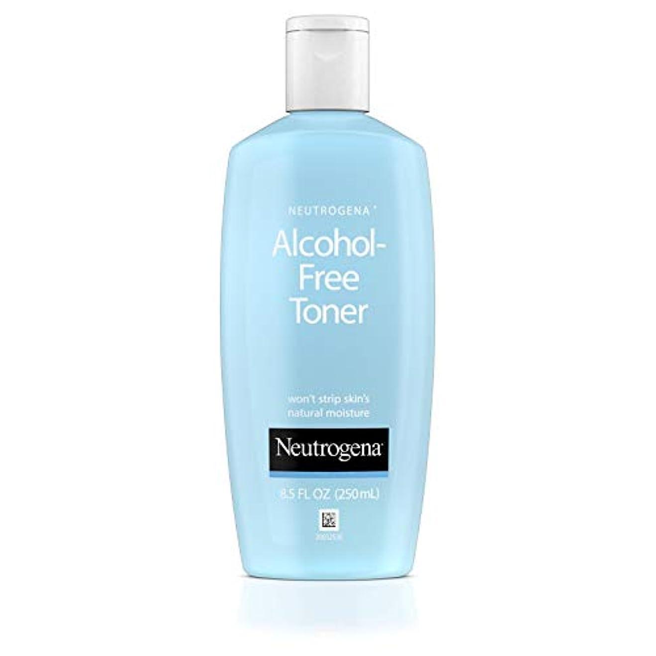 知覚するファイアル大理石Neutrogena Alcohol Free Toner - 8.5 oz (並行輸入品)