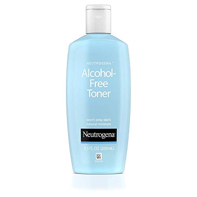 彫刻専ら平手打ちNeutrogena Alcohol Free Toner - 8.5 oz (並行輸入品)