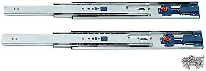 スライドレール セルフ ソフトクロージング 【LAMP】 スガツネ 4670-300 耐荷重20kgf/ペア レール長さ300ミリ 移動距離275ミリ