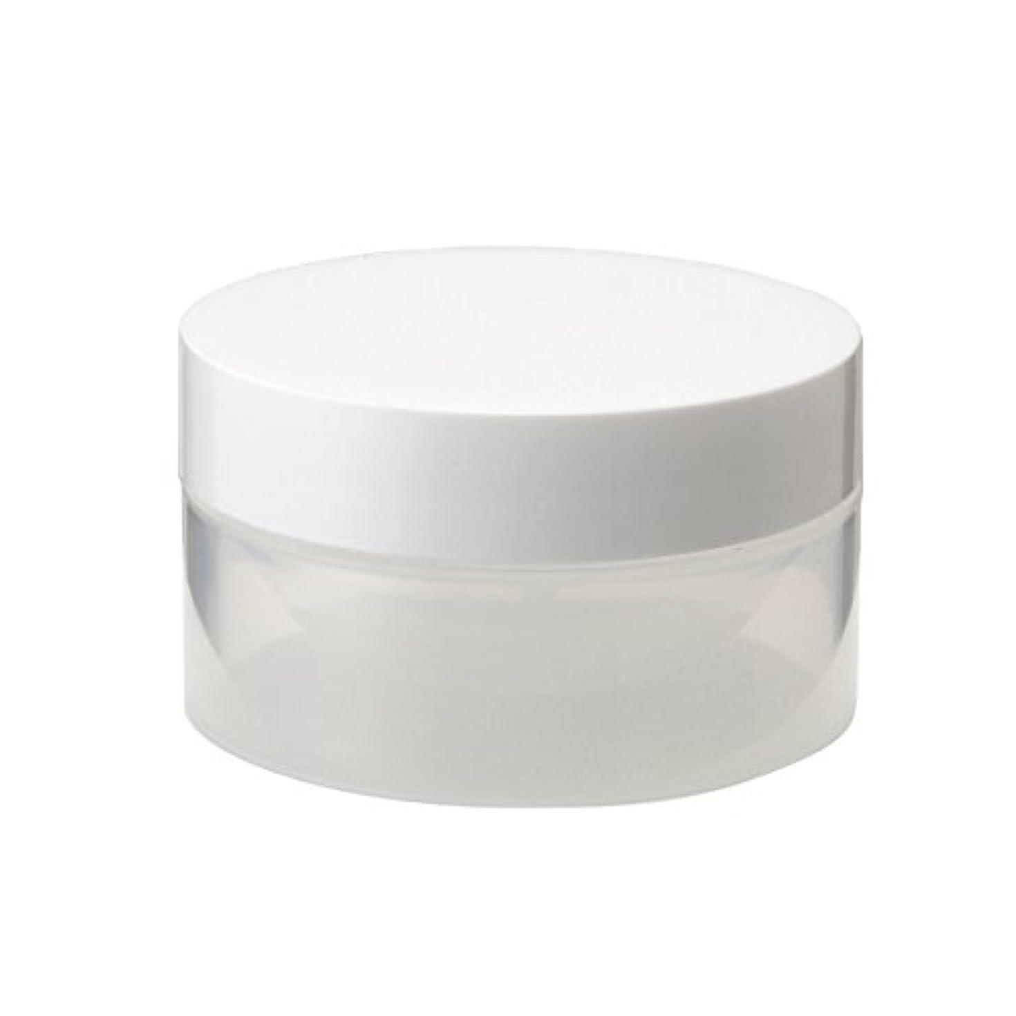 余剰フォアタイプメディアクリーム容器 10g (プラスチック) [ クリームジャー クリームケース クリーム用容器 化粧品容器 空容器 小分け容器 キャップ付き 小分け 詰替え クリーム ケース ボトル 容器 ]