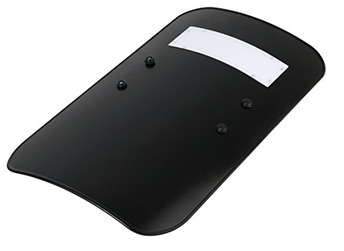 実物 ブラック ライオットシールド バリスティックシールド ポリカーボネート製 テロ対策 実使用モデル 90cm×50cm BF4 サバイバルゲーム 被弾防止