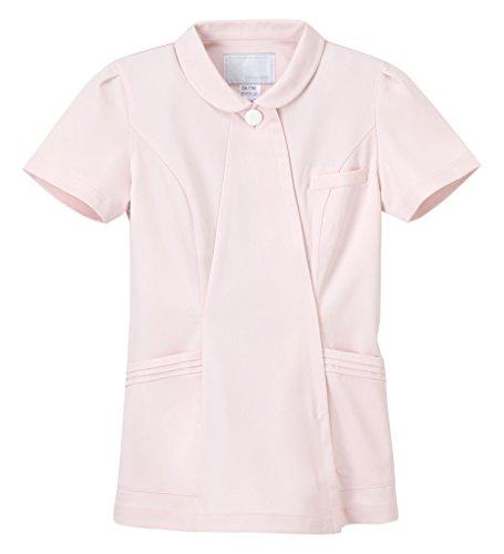 ナガイレーベン エレガントジャケット ナースジャケット 医療白衣 女性用 半袖 ピンク S CA-1792