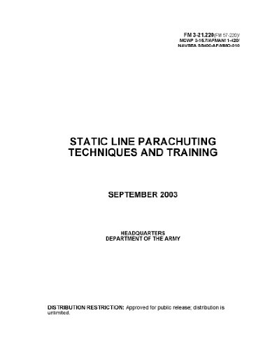 Static Line Parachuting Techniques and Training Field Manual FM 3-21.220 (FM 57-220) MCWP 3-15.7 AFMAN 11-420 NAVSEA SS400-AF-MMO-010 September 2003 (English Edition)