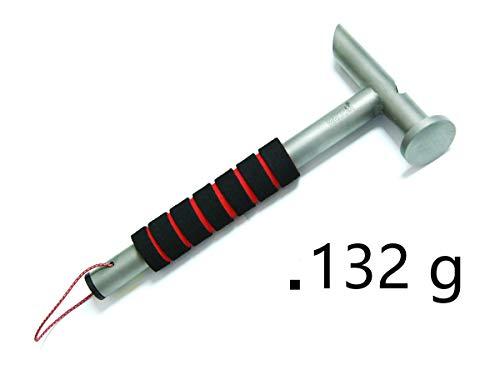 ペグハンマー  テントハンマー  キャンプハンマー 軽量 3.9オンスDesert Walker 多機能高強度TC4チタン合金ハンマー ,収納袋付き