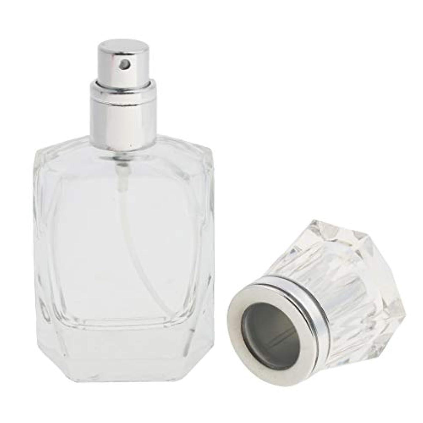 楽観的補償コンテスト香水ボトル 化粧ボトル ガラス ミストボトル 30ml クリア 旅行小物