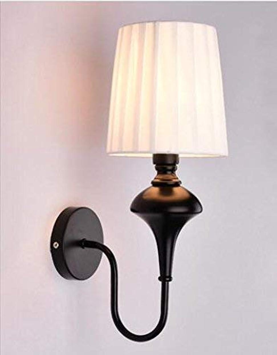 内なるビーム予知壁面ライト, 牧歌的な掛かる鉄の鉄の居間の寝室のベッドサイドウォールライト、白 AI LI WEI (Color : Black)