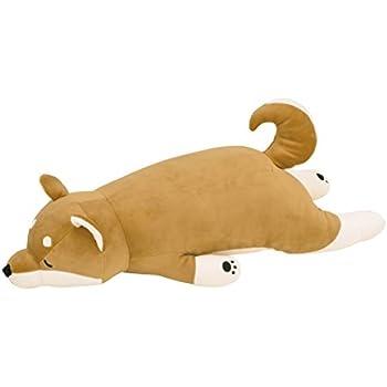 りぶはあと プレミアムねむねむアニマルズ 抱きまくらLサイズ 柴犬のコタロウ(73x32x18cm) 48768-44