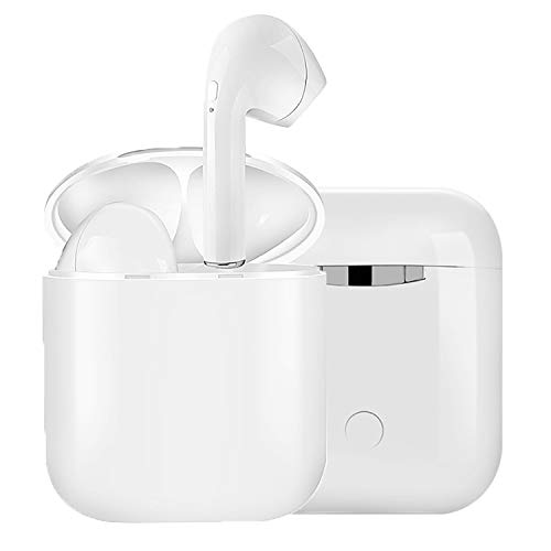 Bluetooth イヤホン Hi-Fi 高音質 最新Bluetooth5.0+EDR搭載 120時間連続駆動 3Dステレオサウンド 完全ワイヤレス イヤホン 自動ペアリング ブルートゥース イヤホン AAC対応 左右分離型 Siri対応 音量調整可能 超大容量充電ケース付き 片耳&両耳とも対応 iPhone/ipad/Android適用