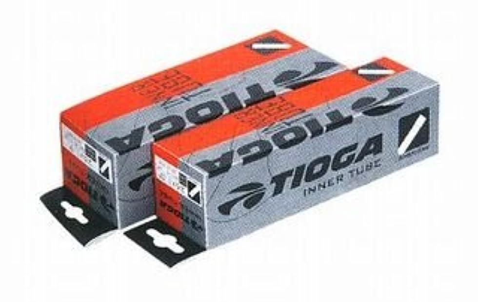 教師の日南西暗くするタイオガ インナーチューブ 米式バルブ (アメリカンバルブ) (自転車用チューブ) TIOGA Inner Tube (American Valve) 700x35~43C?36mm(TIT07800)