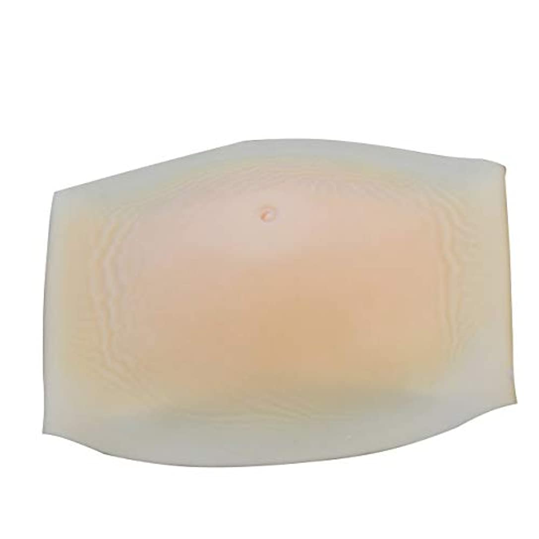休眠教え包囲Yunskynomiseロールプレイングに適したシリコンフェイクベリー人工ベリーフェイク妊娠大人の腹部充填(カラー:スキン#01)