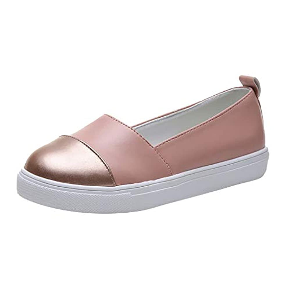 多様体強います機構レディース カジュアルシューズ Hodarey 無地 浅口 ラウンドヘッドカジュアルシューズ フラットシューズ ローファー 怠惰な靴 婦人靴 厚底 レジャー シューズ 美脚 ファッション 女性の靴 人気 安い 疲れにくい...