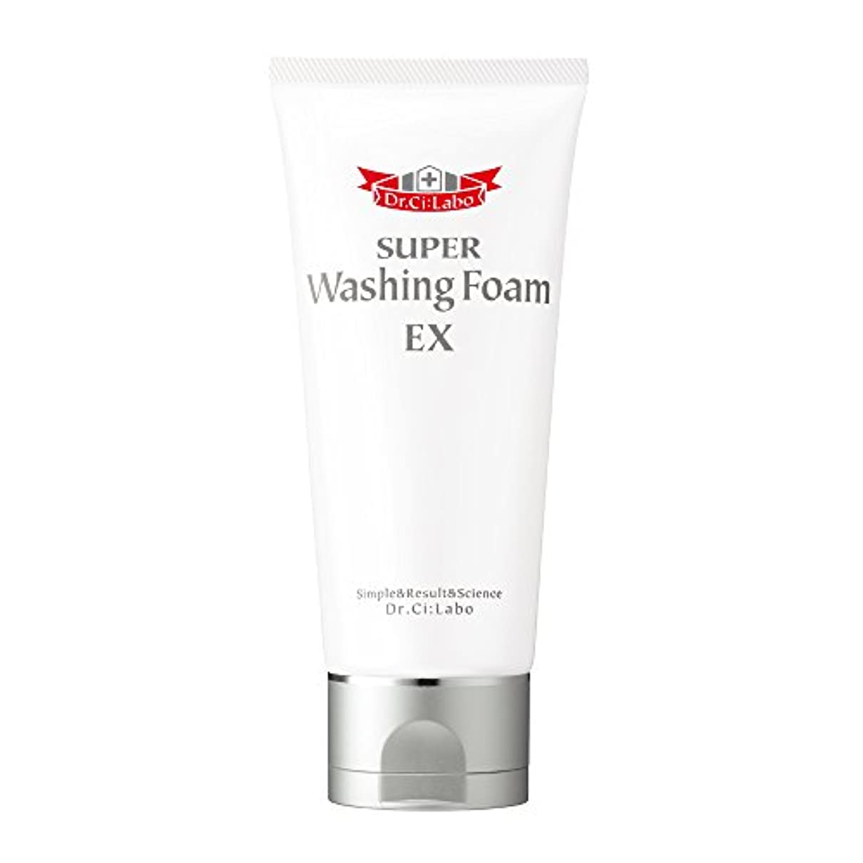 ペレット不注意やさしくドクターシーラボ スーパーウォッシングフォームEX クレイ(整肌成分)配合 90g 洗顔料