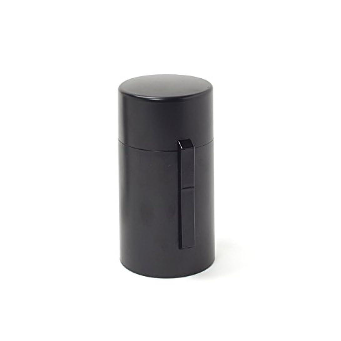 襲撃盲信出席電池式香炉 ひとたき香炉 こづつ 黒