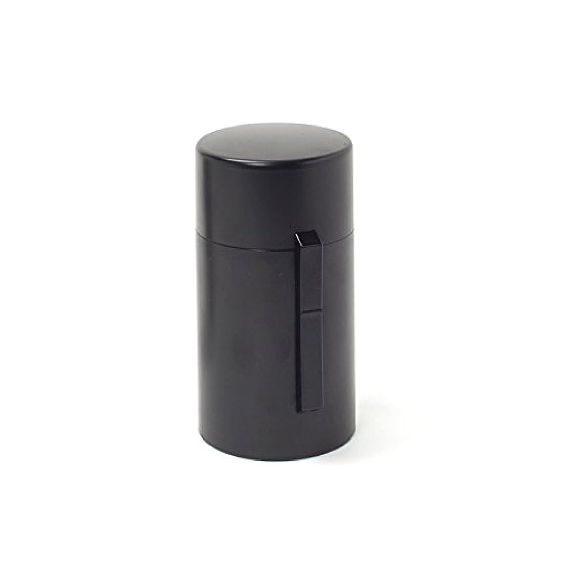 ソーダ水寛容な安息電池式香炉 ひとたき香炉 こづつ 黒