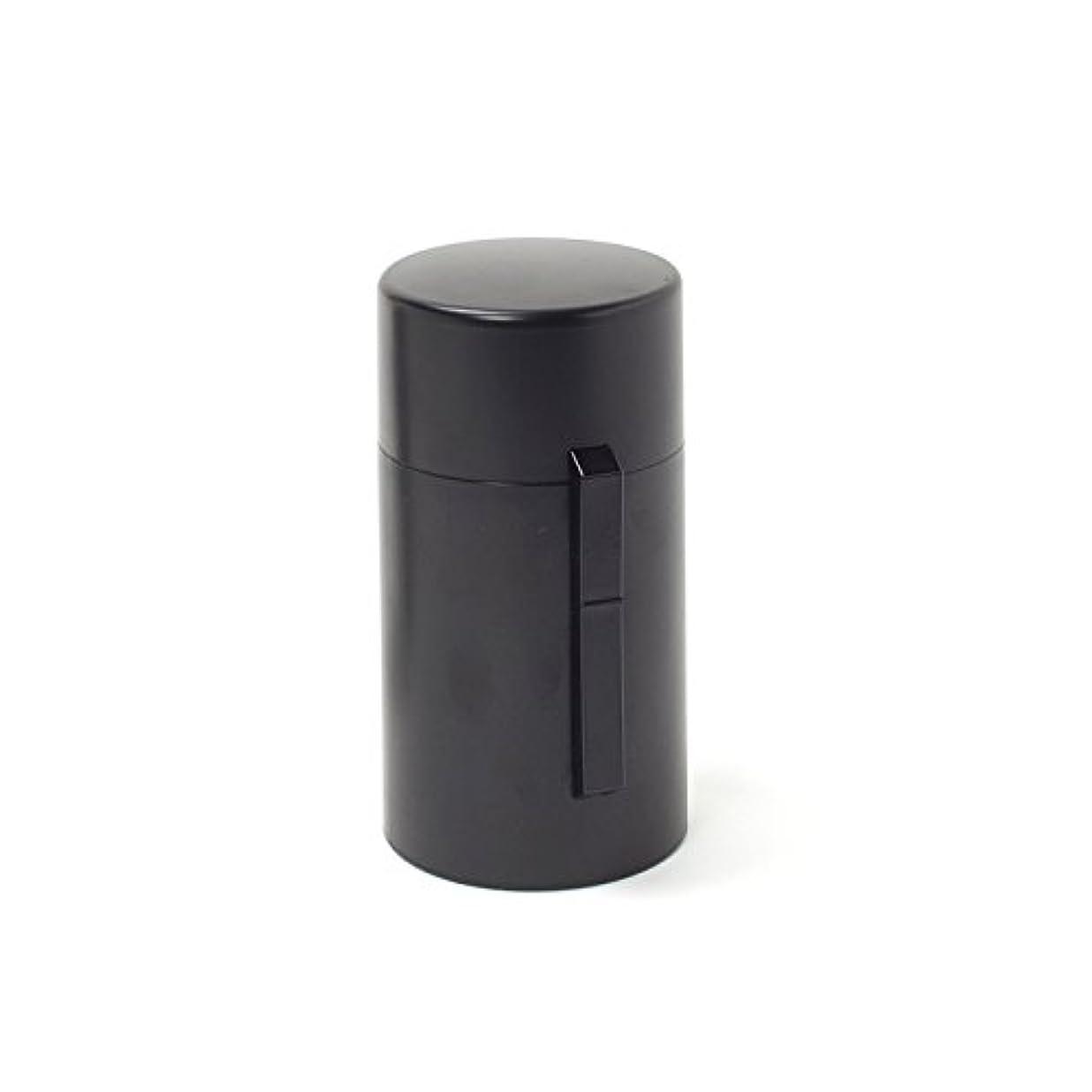 フォロー霧深いスペア電池式香炉 ひとたき香炉 こづつ 黒