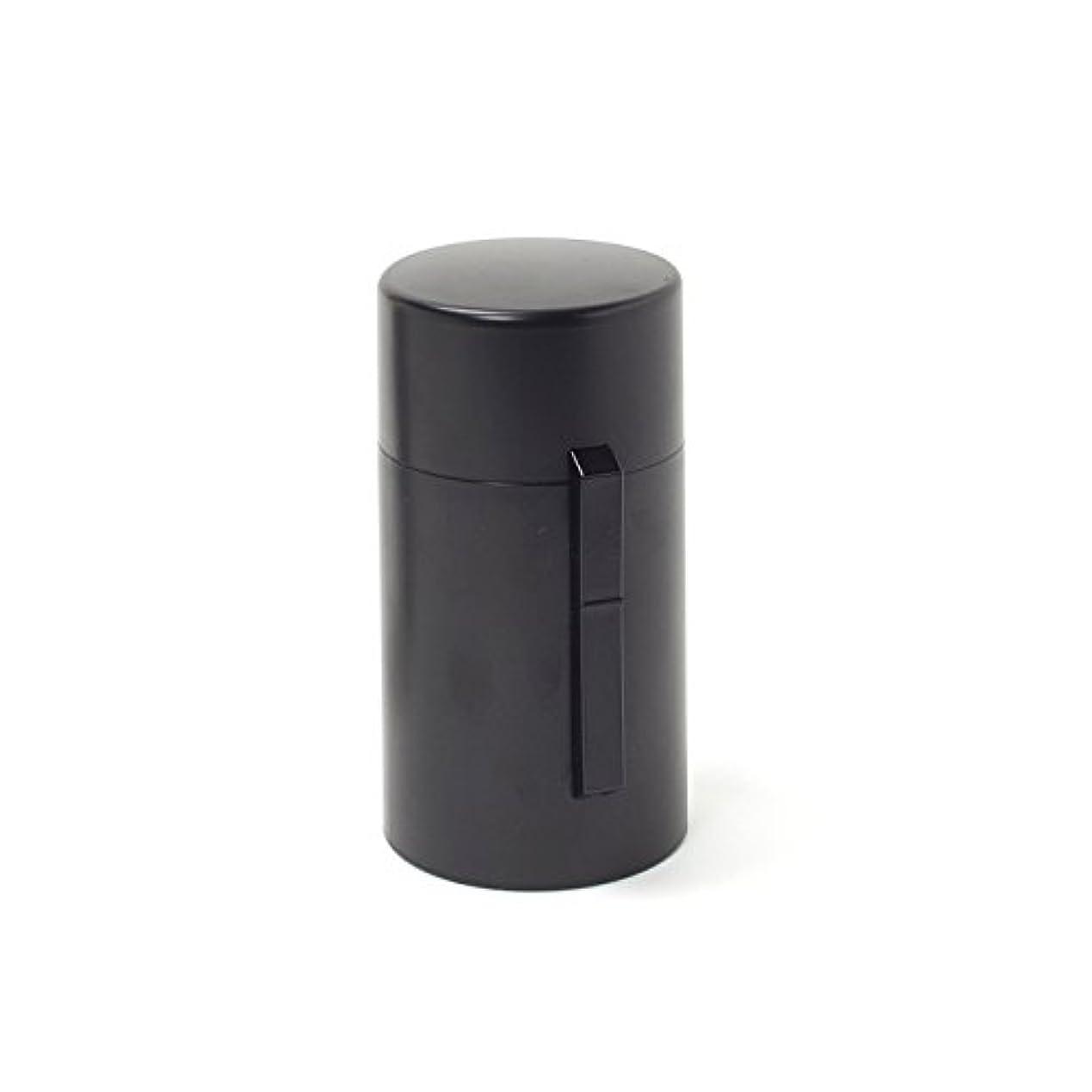 広々とした工場やさしい電池式香炉 ひとたき香炉 こづつ 黒