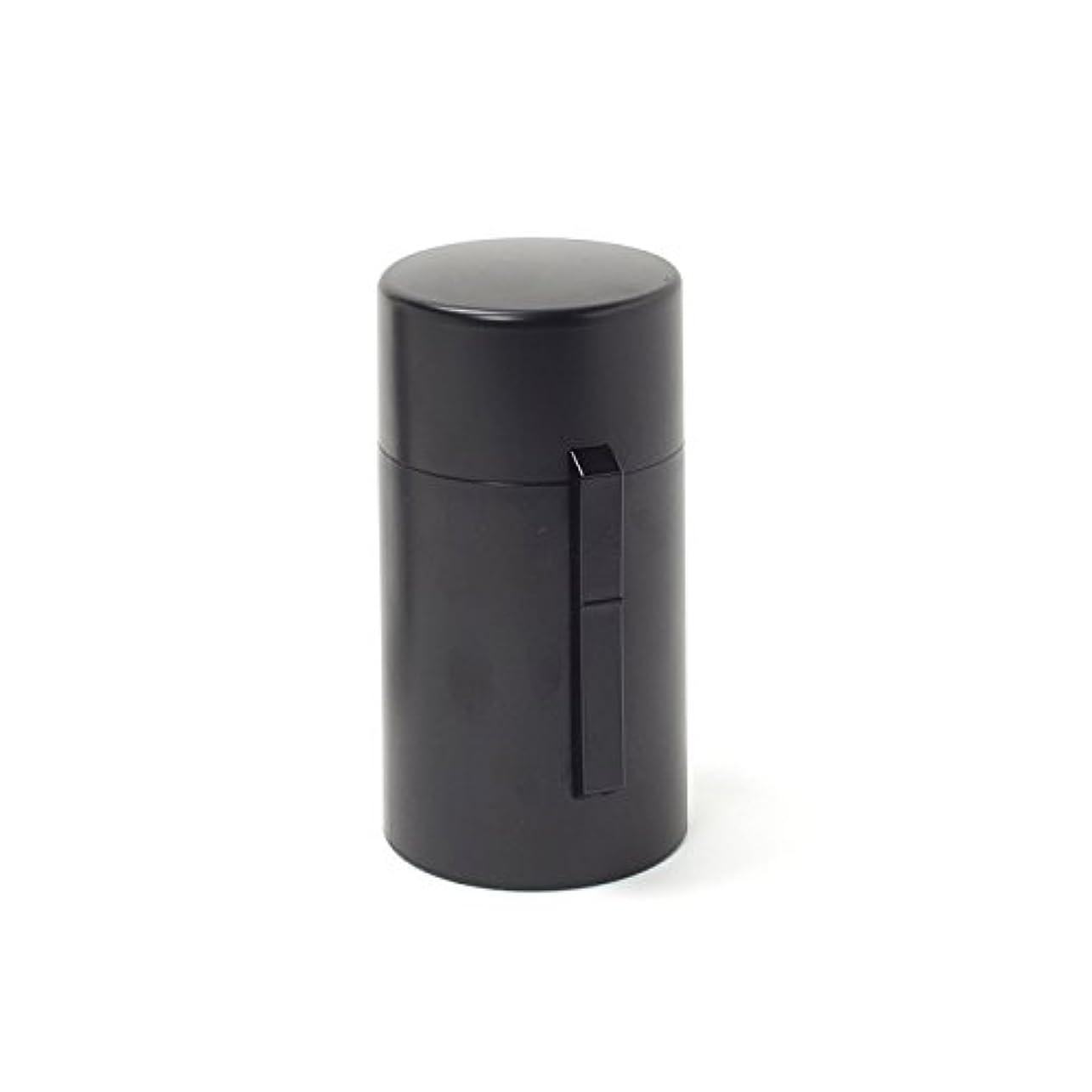 親指蒸タイプライター電池式香炉 ひとたき香炉 こづつ 黒