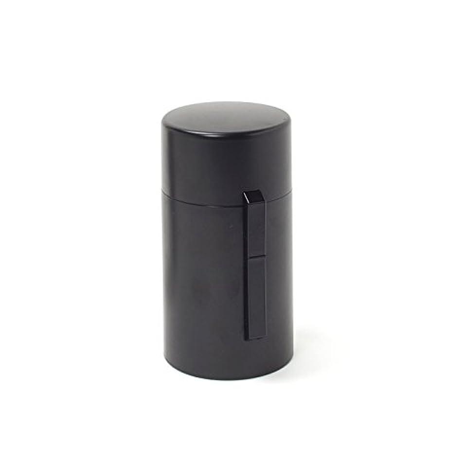 芸術ステンレスメトリック電池式香炉 ひとたき香炉 こづつ 黒