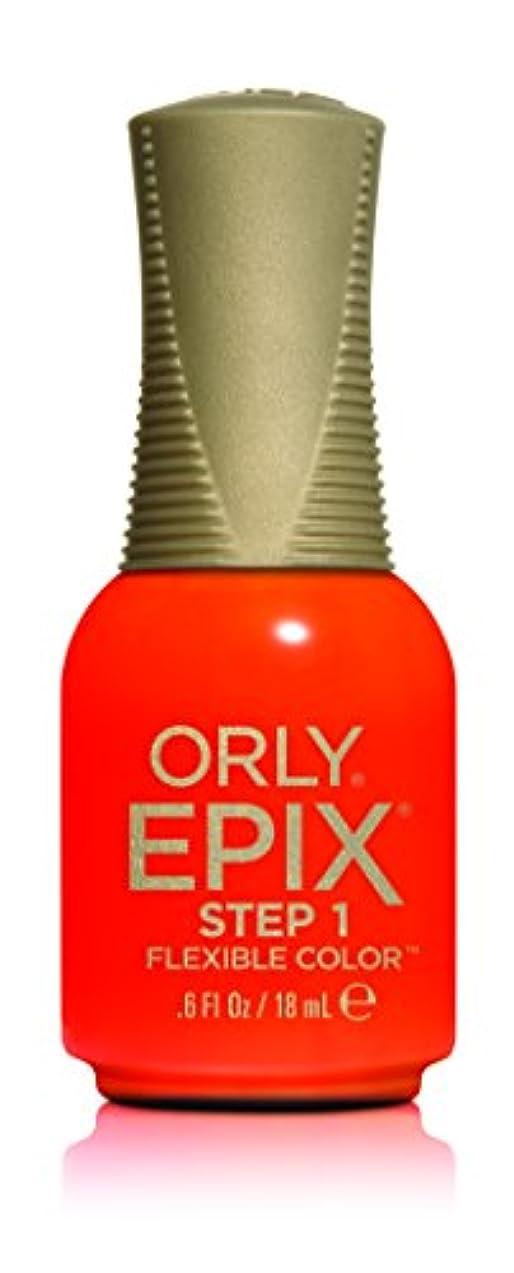 構築する誠実さ考慮Orly Epix Flexible Color Lacquer - Life's A Beach - 0.6oz/18ml