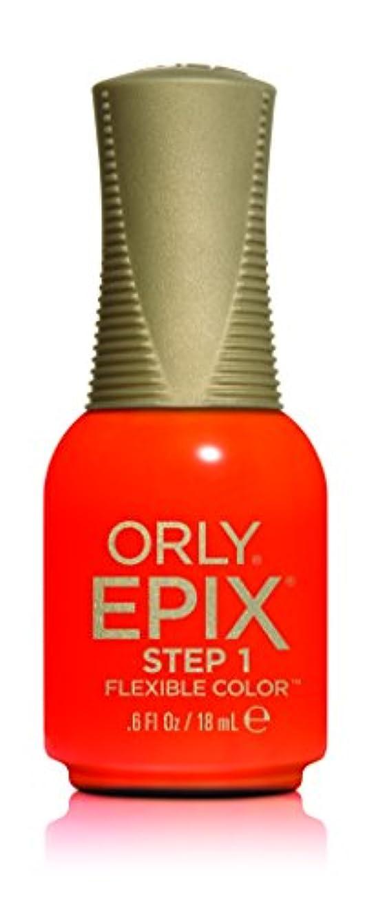 汚す苦しみ悲惨なOrly Epix Flexible Color Lacquer - Life's A Beach - 0.6oz/18ml