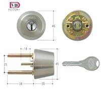 GOAL V18シリンダー TXタイプ GCY-245 キー3本付属 玄関 鍵 交換 取替え テール刻印40/扉厚40~43mm向け GCY245 ゴール TX TDD
