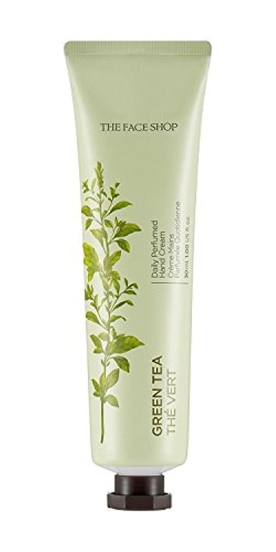 パネルシリーズ強盗[1+1] THE FACE SHOP Daily Perfume Hand Cream [05. Green tea] ザフェイスショップ デイリーパフュームハンドクリーム [05.グリーンティー] [new] [並行輸入品]