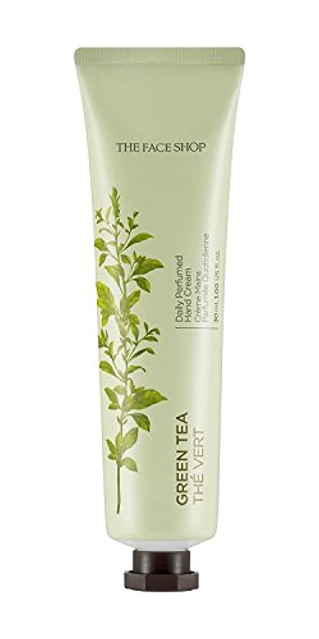アレルギー電話をかける逆説[1+1] THE FACE SHOP Daily Perfume Hand Cream [05. Green tea] ザフェイスショップ デイリーパフュームハンドクリーム [05.グリーンティー] [new] [並行輸入品]