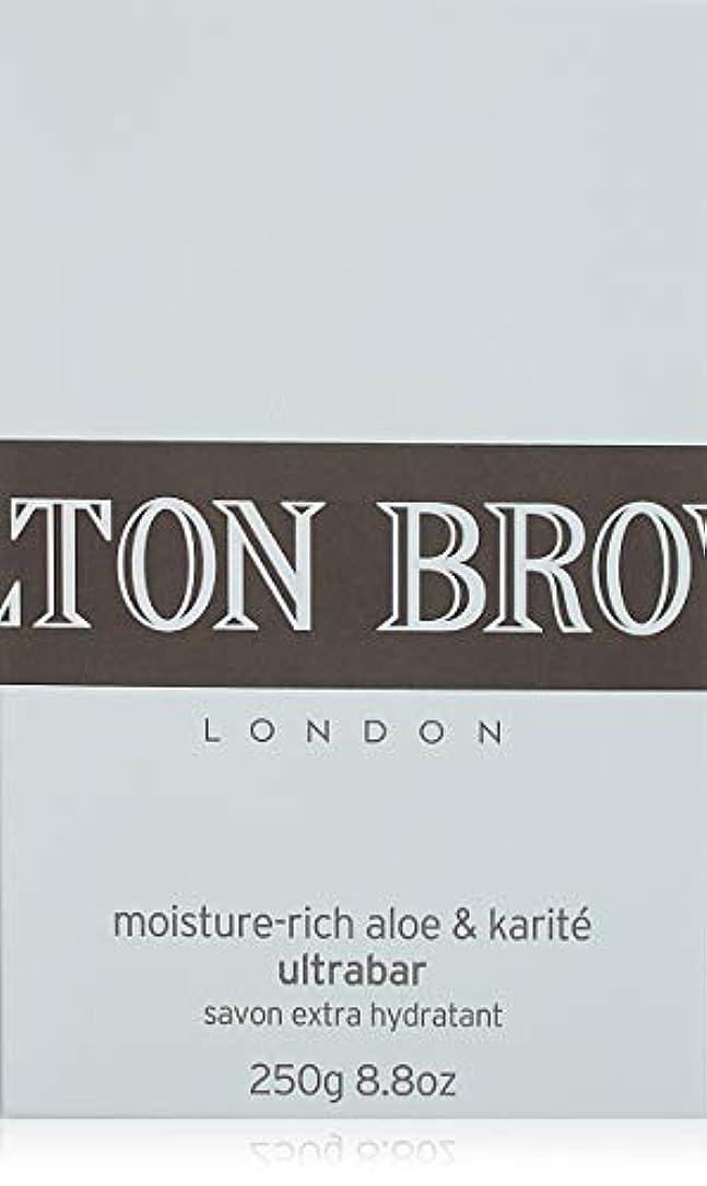 パノラマグリーンバックページMOLTON BROWN(モルトンブラウン) モイスチャーリッチ アロエ&カリテ ウルトラバー 石鹸 250g