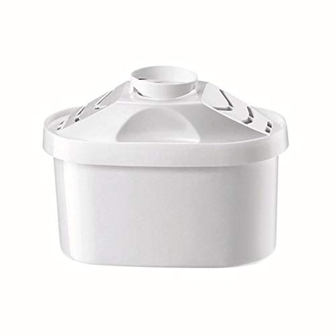 士気トンスケートSaikogoods ブリタの水のピッチャーのためのケトルフィルター 活性炭 水フィルターカートリッジ 健康的なクリーンデバイスを 精製 白