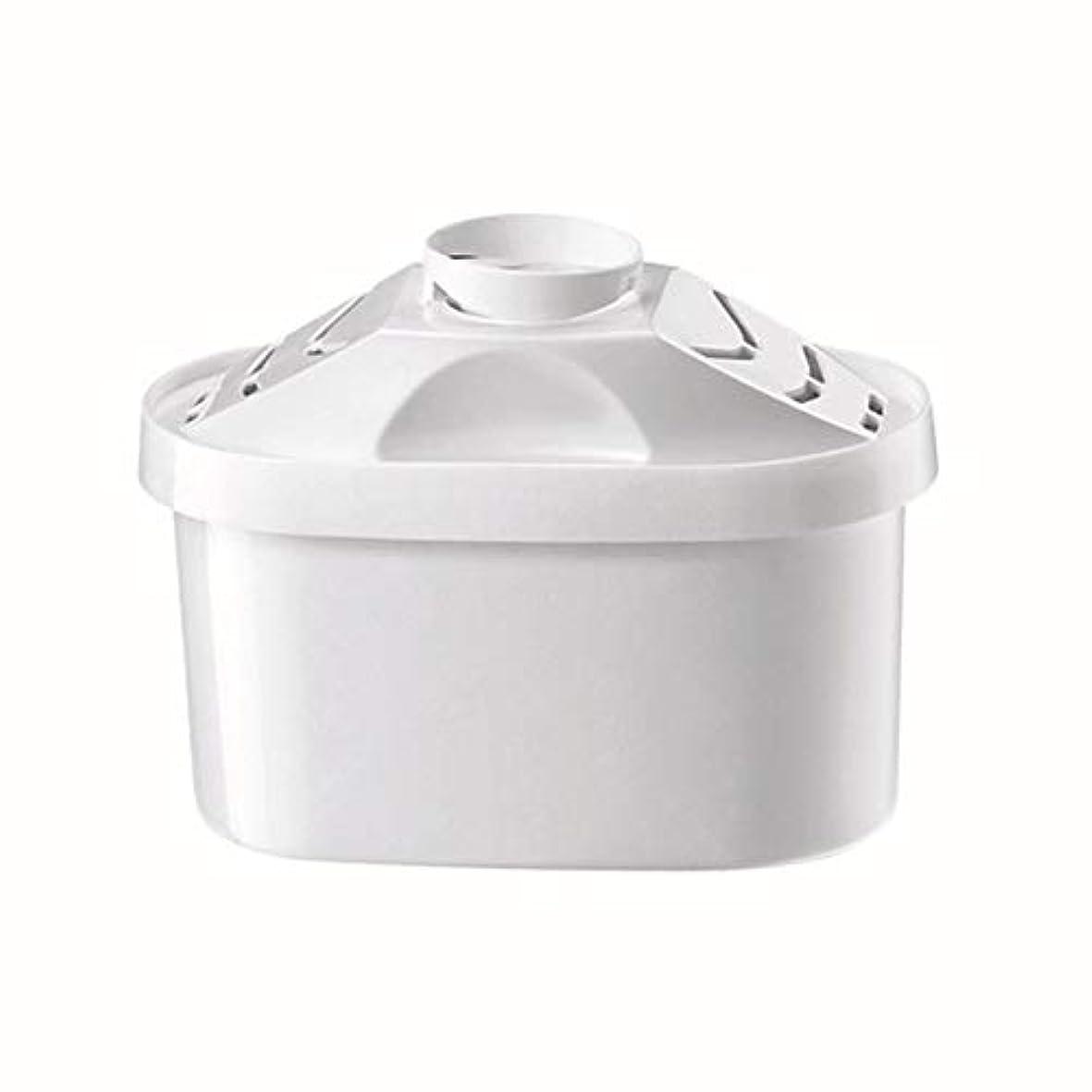 Saikogoods ブリタの水のピッチャーのためのケトルフィルター 活性炭 水フィルターカートリッジ 健康的なクリーンデバイスを 精製 白