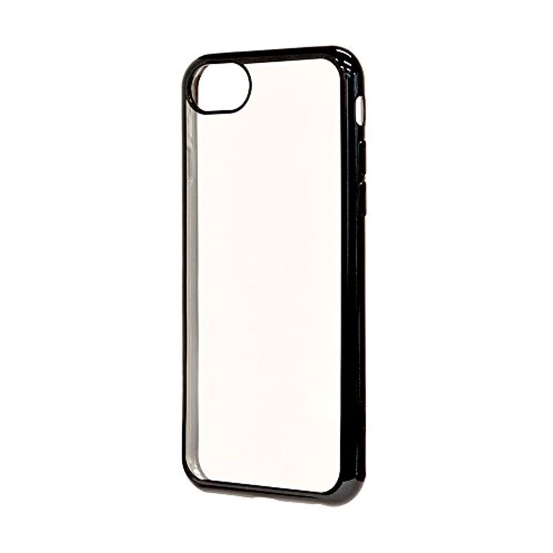 結婚できない着実にラスタバナナ iPhone 7/6s/6 ケース/カバー サイドメッキ TPU ブラック アイフォン スマホケース 3267IP7A