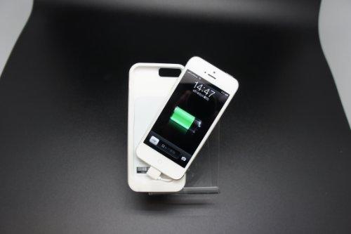 オーセラスジャパン モバイルバッテリーケース PowerSkin for Apple iPhone5 ホワイト 1_AP1529IP_W_JP