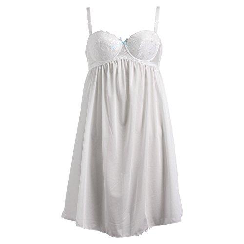 (COMUSE) Komyuzu maternity for pregnant women bra slip A · B · C (white, C70)